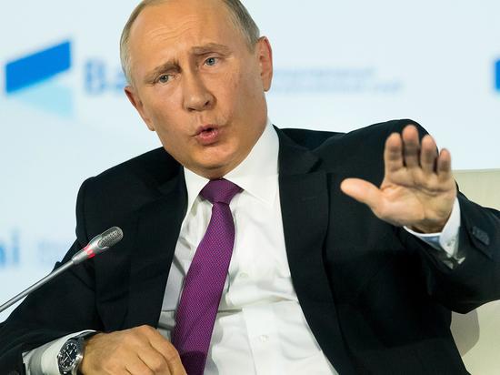 Путин рассказал анекдот об отношениях с США