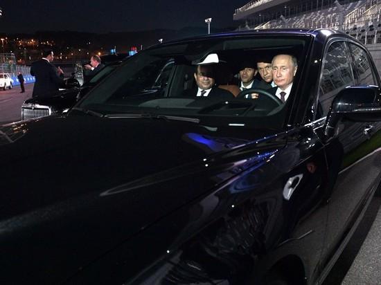 Почему у Путина один и тот же номер на двух машинах