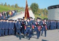 Волгоградские лицеисты приняли присягу на главной высоте страны