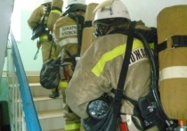 В Красногородском интернате потушили условный пожар