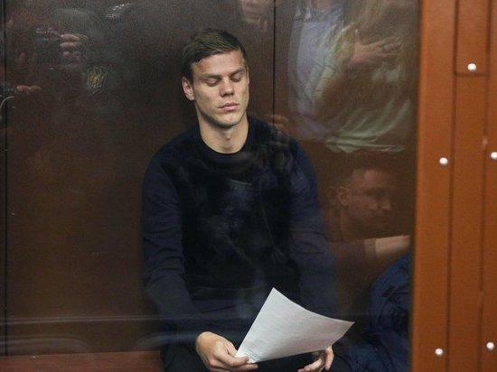 Суд отклонил апелляцию Кокорина и оставил футболиста в СИЗО