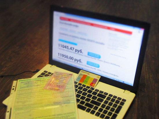 Тамбовчанка попалась на уловку мошенников при покупке полиса ОСАГО через Интеренет
