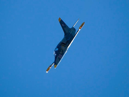 Найдены обломки военного самолёта Л-39  в Азовском море