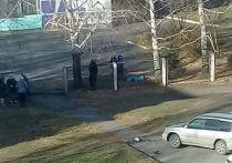 Мертвый пенсионер несколько часов пролежал рядом со школой в Кемерове