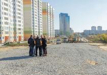Строительство дороги на Хворостухина в Туле должны завершить до конца года