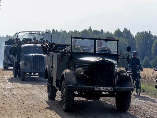 Каскадёра насъёмках фильма раздавил танк