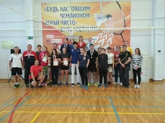В селе Левокумском состоялся необычный турнир по бадминтону