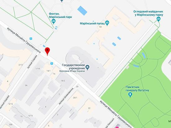 Google Maps заподозрил Верховную Раду в измене