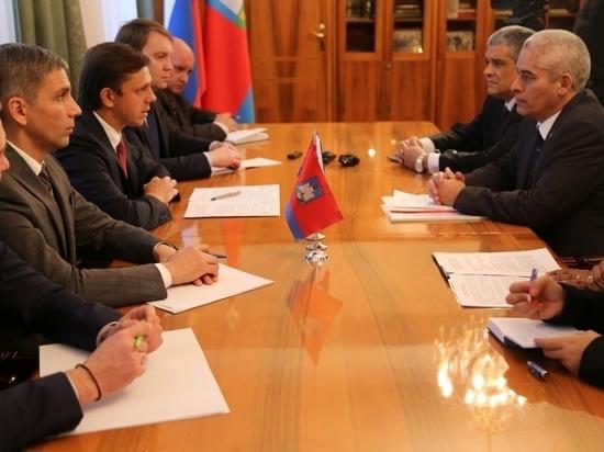 Андрей Клычков провёл встречу с делегацией Посольства Республики Куба