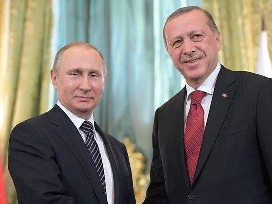 Путин и Эрдоган встретятся в ходе четырехстороннего саммита по Сирии