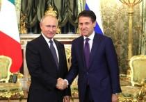 Путин провел шесть часов с итальянцем: смотрели фильм Кончаловского