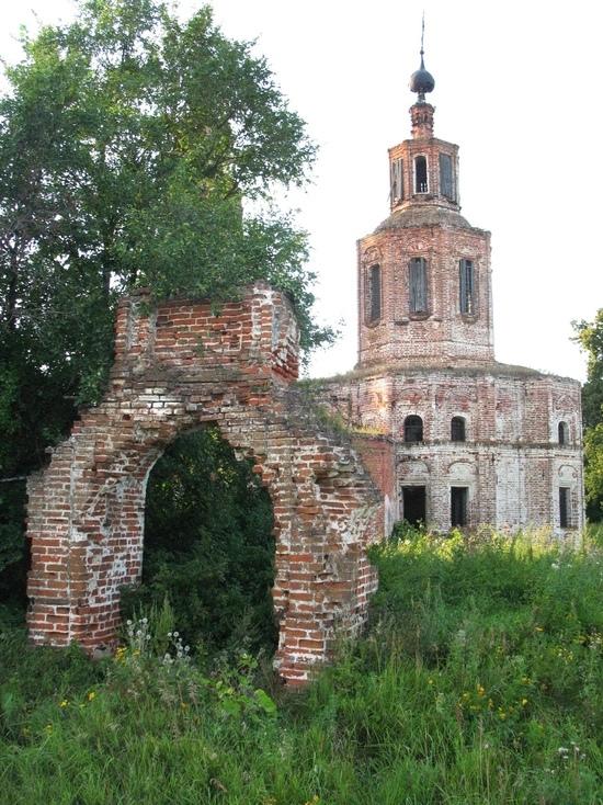 Забытые страницы истории Рязанского края: село Коленцы