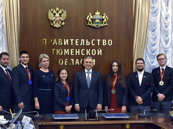 Тюменцы привезли сEuroSkills Budapest2018 медали и медальоны запрофессионализм