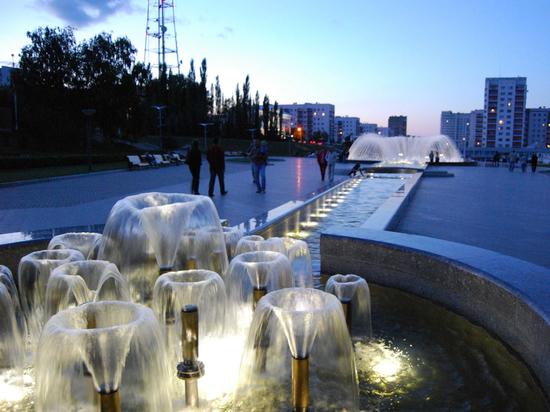 Пермякам предлагают проголосовать за фонтаны на Сибирской