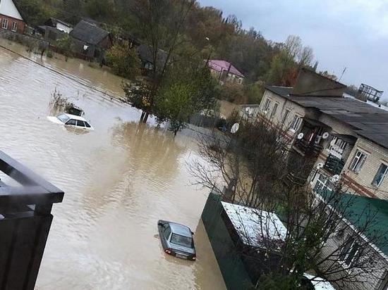 Подтоплены 30 населенных пунктов Кубани