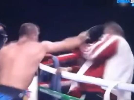 Грузинский боксер избил своего тренера после проигрыша