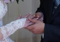 Свадьба строгого режима: в чувашской колонии поженились 9 пар