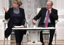 На чествованиях избирательной системы Путину пожаловались на преступную идеологию
