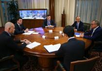Андрей Воробьев встретился с банкирами