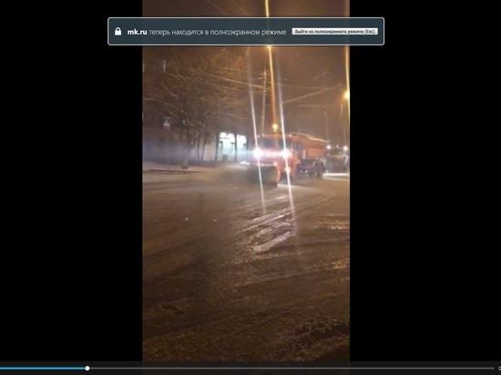 Спецтехника в срочном порядке вышла на улицы Калуги