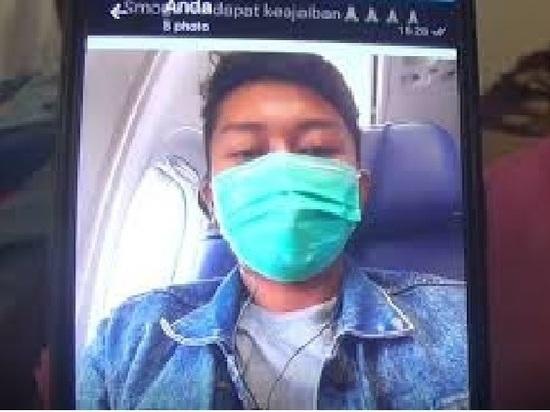 Размещена  заключительная  фотография пассажира разбившегося вИндонезии Боинга
