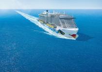 AIDA выпустила в свет экологически чистый круизный лайнер