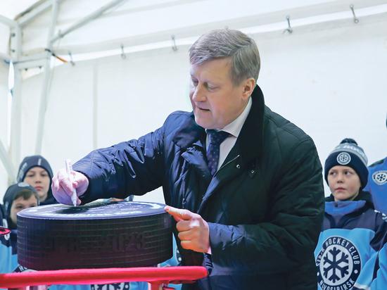 Новосибирск вытянул счастливый билет на хоккей