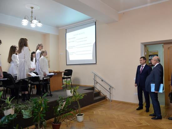 В Воронеже появились медицинские классы