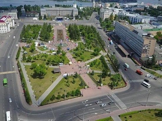 В центровых местах Иркутска работает видеонаблюдение