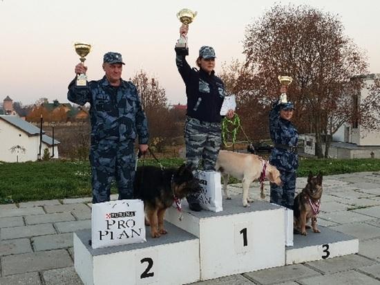Собаки ярославского УФСИН признаны лучшими в стране