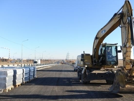 Развязку моста через Ахтубу откроют в декабре