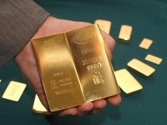 Банк России приобрел рекордное за 3 года количество золота