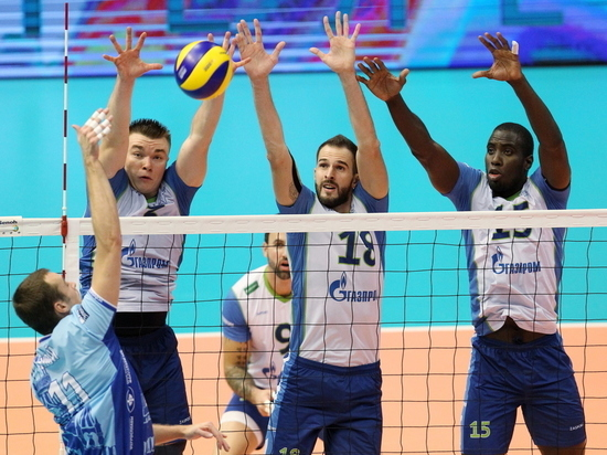 Волейбольный «Зенит» победил благодаря приписке