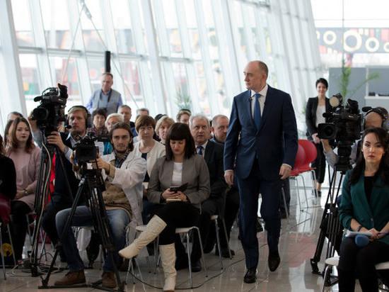 «Я не родился губернатором». Борис Дубровский ответил на вопросы журналистов