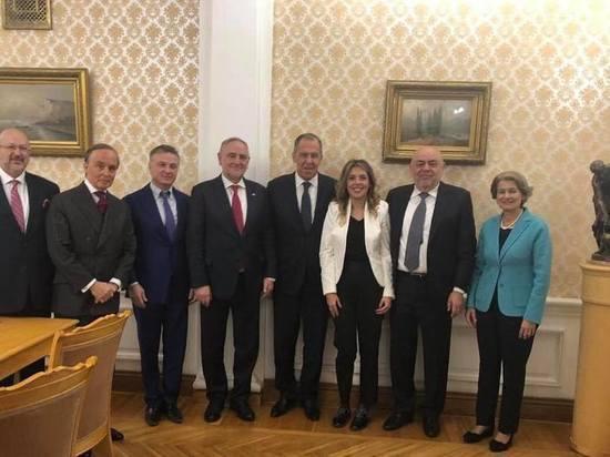 Глава МИД России встретился с участниками Московской международной конференции «Защитим будущее»