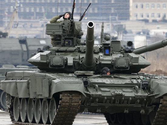 Российский танк Т-90 признали совершенным оружием