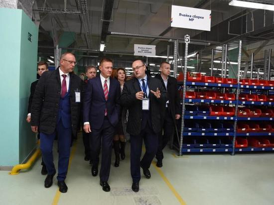 Роман Старовойт посетил индустриальный парк