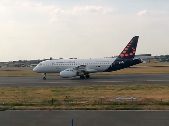 Бельгийская авиакомпания решила избавиться от российских SSJ-100