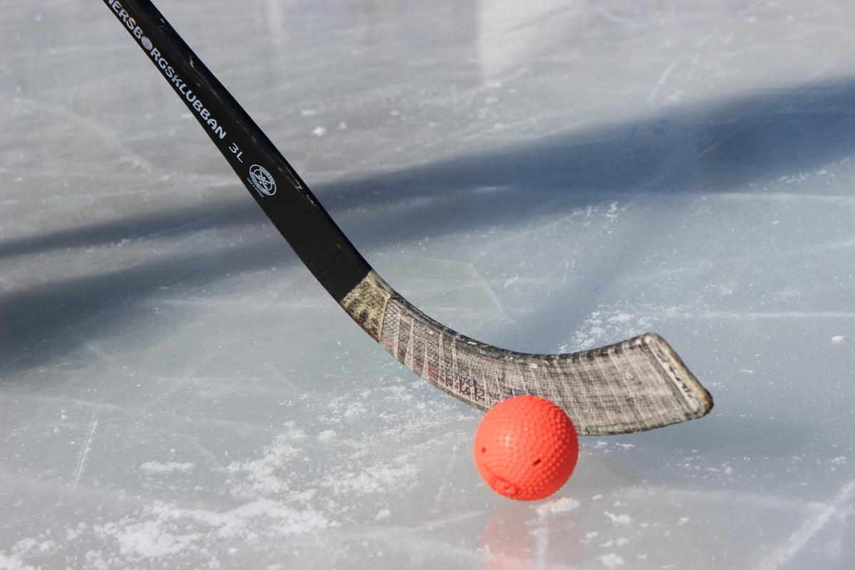 Картинка клюшка хоккей с мячом