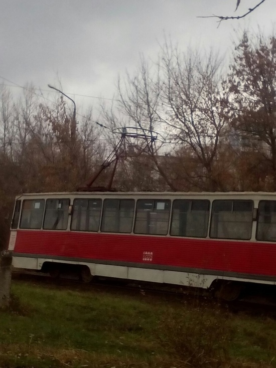 Из-за поломки остановились два трамвайных маршрута