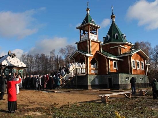 Новый храм в Ивановской области готов принять прихожан