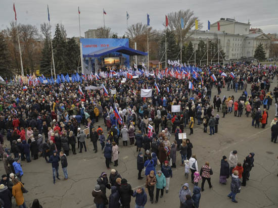 Шесть тысяч саратовцев продемонстрировали единство
