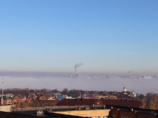 Синоптики объяснили появление сильного тумана над Калугой