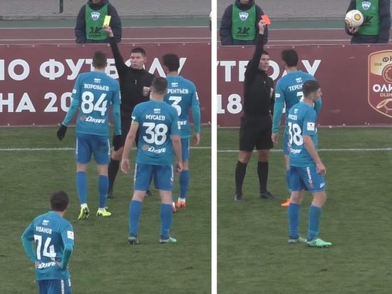 Футболист «Зенита» подрался во время матча с одноклубником