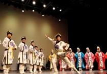 Сибирь увидела золотой фонд калмыцкого танца