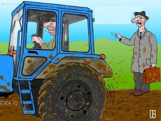 Приставы заставили фермера за копейки продать технику для погашения долга