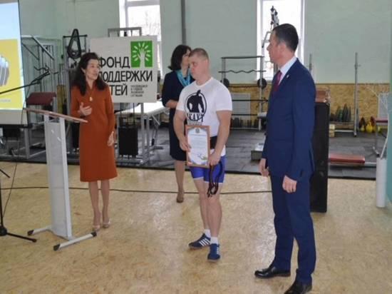 В Грязовецком техникуме открылся новый спортивный зал клуба «СКАУТ»