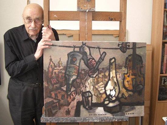 Легендарный художник Оскар Рабин скончался в Италии