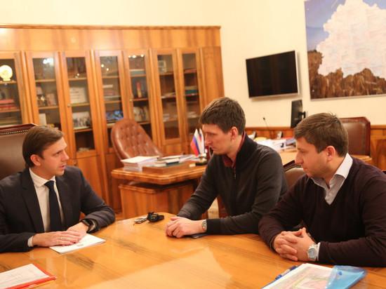 Андрей Клычков встретился с представителями