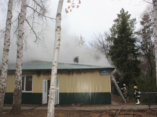 В Оренбурге из-за пожара в лагере эвакуировали почти 200 человек